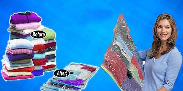 Efektívne, hygienické, jednoduché, ekonomické. Balík vákuových vriec v rôznych veľkostiach od 8,49 € vrátane poštovného.