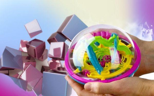 Jedinečná inteligentní 3D KOULE protáhne Vaše mozkové závity za super cenu 249 Kč! 100 unikátních překážek obtížnosti! Prověřte svou zručnost a trpělivost se slevou 58%!