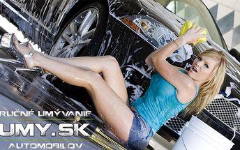 Len 10 € za kompletné umytie auta zvonku a zvnútra. Čisté auto so zľavou až 55%.