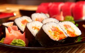 2,5hodinový kurz sushi a japonské kuchyně!