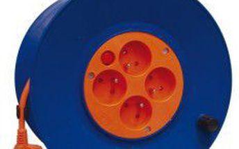 Prodlužovací kabel na bubnu - 4 zásuvky 50m P19450 Emos