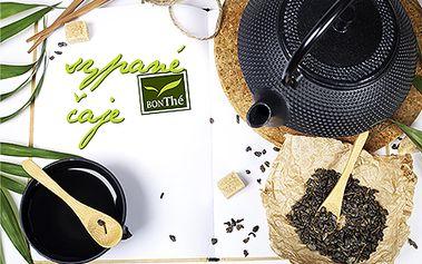 Len 1,99 € za dvojkombináciu balení sypaných čajov BON THE! Jazmínový s kvetom, citrón so zázvorom, ovocný alebo čistiaci. Všetky za polovičné ceny!