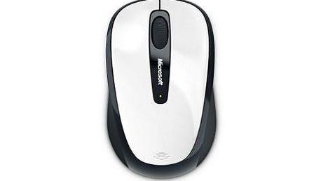 Bezdrátová myš MICROSOFT Wireless Mobile Mouse 3500, bílá (white)