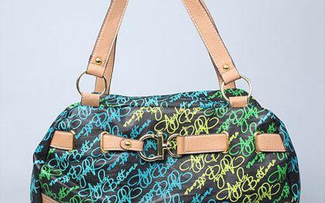 Modro-zelená kabelka Apple Bottoms