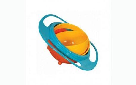 Pouhých 59 Kč za KOUZELNOU Gyroskopickou misku pro děti Gyro Bowl! Otáčejte misku dle libosti do všech stran, miska se nikdy nepřevrhne!