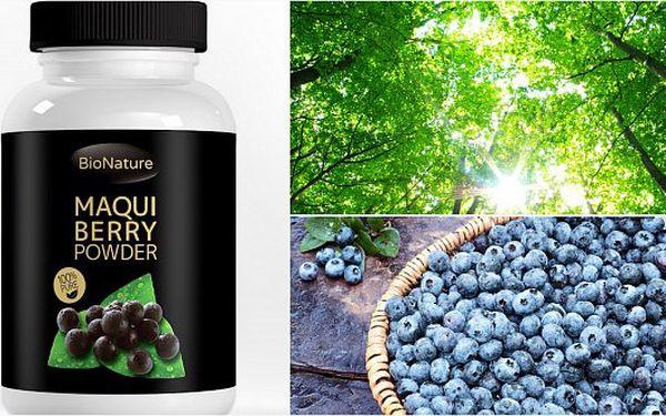 Maqui berry. Nejsilnější antioxidant na světě! Zbavte se volných radikálů, nastartujte metabolismus a dopňte tělu důležité látky.