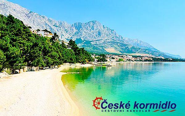 Léto v jižním Chorvatsku – 8 dní s polopenzí