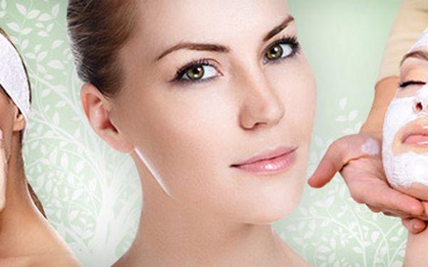 Luxusní ošetření pleti: výživa, čištění, masáž obličeje, rukou, nohou i hlavy, zábal