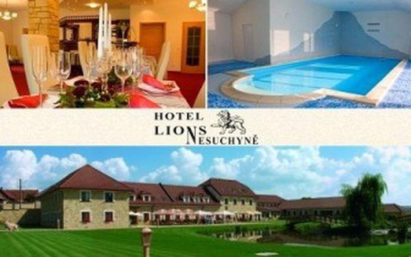 5denní LUXUSNÍ LETNÍ DOVOLENÁ s PLNOU PENZÍ pro 1 osobu. Volný vstup do BAZÉNU v hotelu Lions.