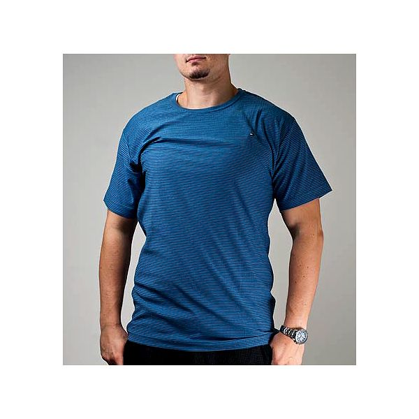 Modré pánské triko Los Angeles Hilfiger