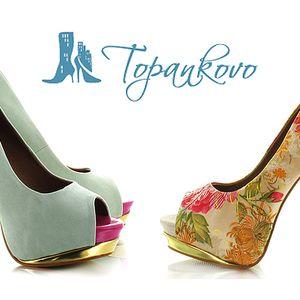 Len 11,90 € za poukážku v hodnote 25 € na nákup topánok na www.topankovo.sk. Zľava 52% na balerínky, lodičky, farebné čižmy alebo gumáky z novej jarnej kolekcie.