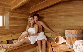 SOUKROMÝ PRONÁJEM SAUNY a relaxačních prostor na 1 hodinu za skvělých 199 Kč nebo na 2 hodiny za báječných 379 Kč! Relaxujte v soukromí se super slevou až 79%!