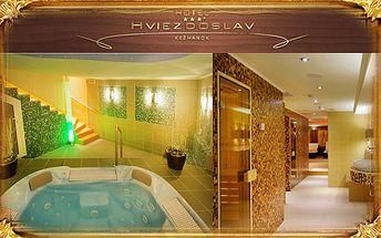 Relax vo dvojici v jarnej atmosfére romantického Hotela Hviezdoslav***+ pod Vysokými Tatrami len za 165€. Miesto, kde sa spája luxus, wellness, chutná gastronómia, krásne okolie a starostlivosť s Marky Kay s 54% zľavou.