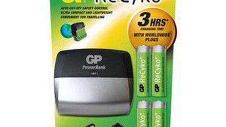 Nabíječka baterií GP ReCyko+ - inteligentní nabíječka baterií s funkcí delta V.