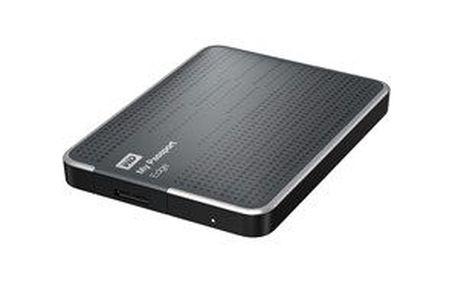 "Přenosný pevný disk HDD ext. 2,5"" Western Digital My Passport Edge 500GB USB 3.0 - titanium"