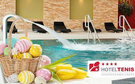 Užite si 3 dni plné pohody a relaxu v modernom Hoteli Tenis **** len za 99€. Veľká noc s wellnessom a polpenziou so zľavou 41%.