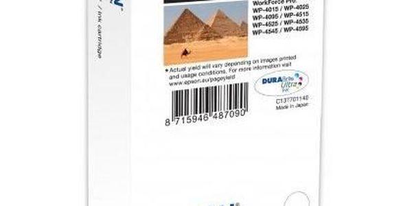 Inkoustová náplň EPSON T7021, černá (black)