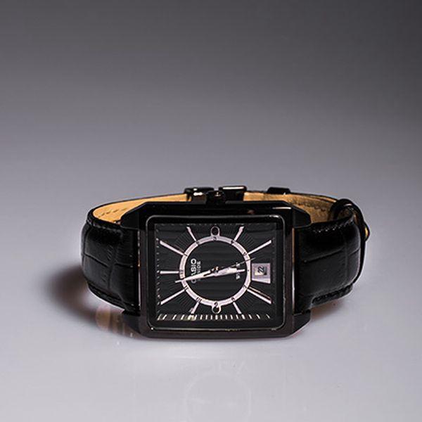 Pánské černé hodinky Casio Beside