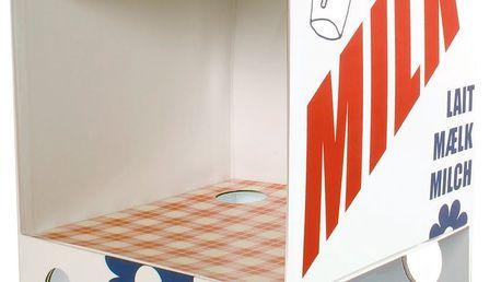 Úžasný domeček pro myšky od Maileg, v designu krabice od mléka.
