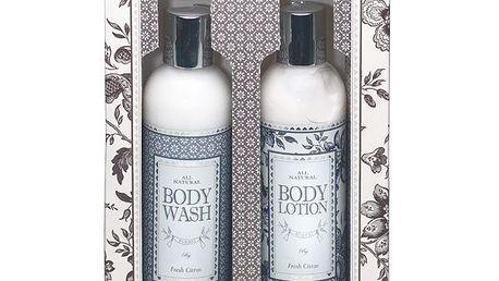 Balíček Body care - Fresh citrus. Tělová kosmetika s luxusní citrusovou vůní.