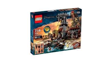 LEGO 4194. Rozbouřená zátoka obsahuje celkem 745 dílků.