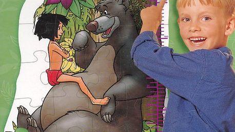 Růstový metr RAVENSBURGER 24 dílků - Mauglí, kniha džunglí