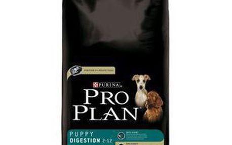 Purina PRO PLAN Puppy Digestion Lamb 14 kg, Kompletní výživa s jehněčím masem a rýží pro štěňata