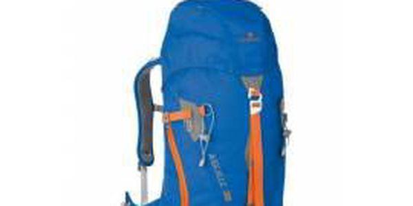 Batoh FERRINO AIGUILLE 38 modrá, ideální pro všechny lezecké aktivity.
