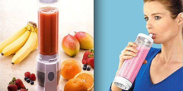 Pripravte si svoj delikátny a zdravý nápoj a zoberte si ho so sebou - revolučný mixér za 28€ po 65% zľave. Poštovné a balné v cene.