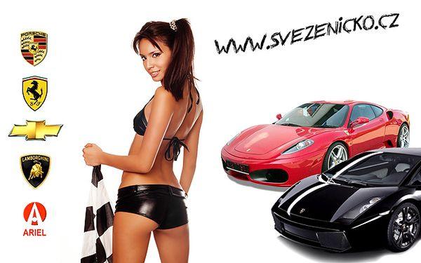 Adrenalinová jízda luxusním vozem