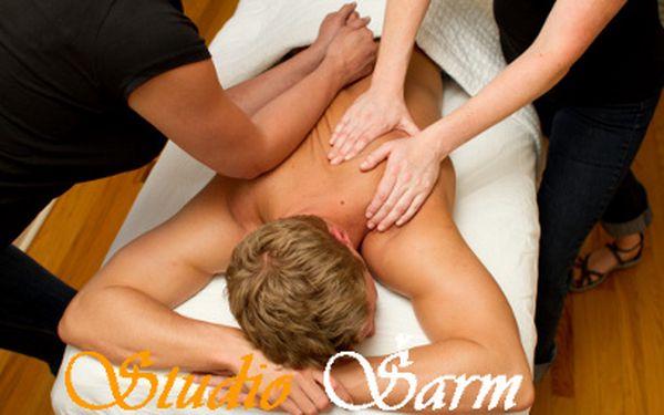 4ruční relaxační celotělová masáž za 499 Kč! Zaváděcí cena!