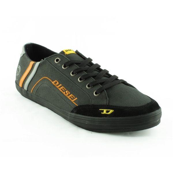 Pánské boty Diesel černé s hnědou