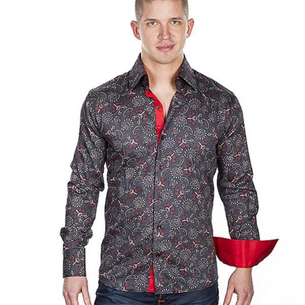 Originální košile s retro vzorem