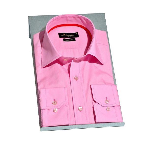 Pánská košile Pontto růžová