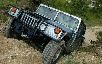 Projeďte se ve vojenské verzi Hummer H1 s 83% slevou!