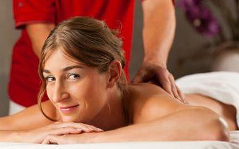 60minutová čínská masáž TUINA