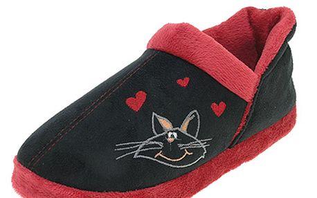 Papuče s kočičkou
