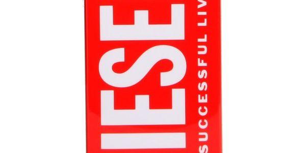 Diesel kryt na iPhone 4 a 4S červený logo nápis