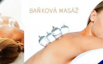 30 minutová uvolňující Baňková masáž! Rozproudí lymfatický systém, prokrví pokožku a mnoho dalších příznivých účinků! Uvolněte se v Relax Salonu Sen v centru Prahy!