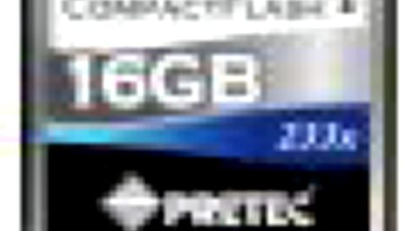 Superrychlá paměťová karta typu CompactFlash PRETEC CompactFlash 16GB 233x