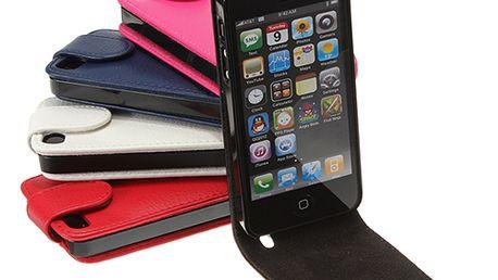 Koženkové ochranné pouzdro pro iPhone 5 - na výběr z 5 barev a poštovné ZDARMA! - 69