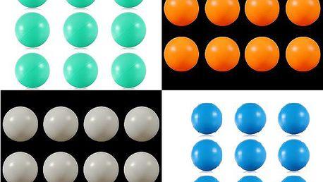 Pingpongové míčky 50 kusů - na výběr ze 4 barev a poštovné ZDARMA! - 69