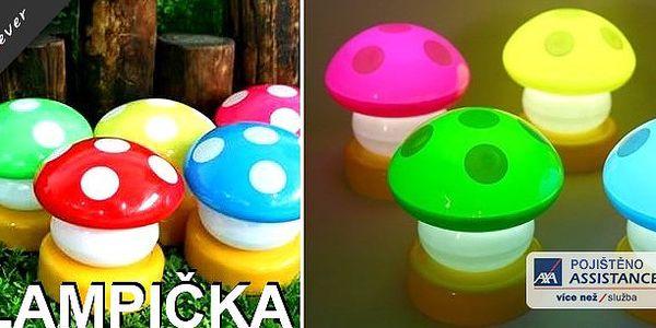 Svítící Houbička (lampička) - 2 ks nyní za 79 Kč - nádherná lampička za nádhernou cenou