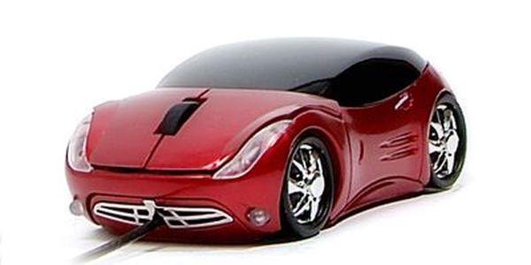 Optická myš ve tvaru závodního auta ACUTAKE Extreme Racing R1