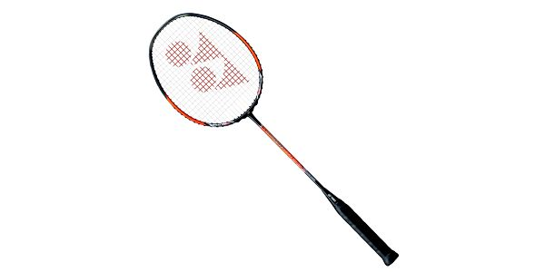 Badmintonová raketa Yonex Nanospeed 990, GOLD ORANGE, 3UG3 pro závodní a velmi útočné hráče