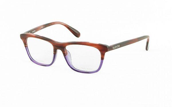 Dámské hnědo-fialové obroučky Valentino