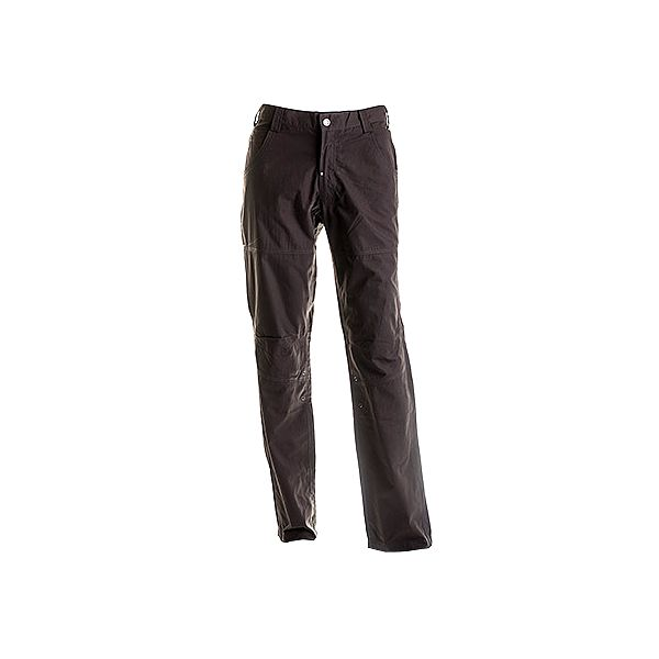 Dlouhé tmavé khaki kalhoty Travel Jens