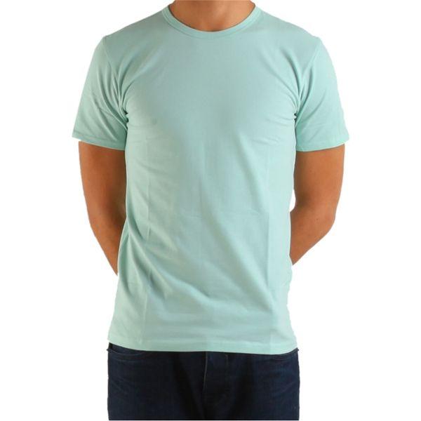 Pánské triko Calvin Klein světle zelené