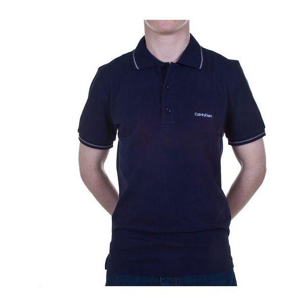 Pánské polo tričko Calvin Klein tmavě modré