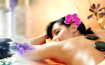 Luxusní 90 minutová MASÁŽ CÉLÉHO TĚLA HORKÝMI LÁVOVÝMI KAMENY za jedinečných 349 Kč! Zahřejte se v zimních dnech a dopřejte si báječný relax se slevou 64%!